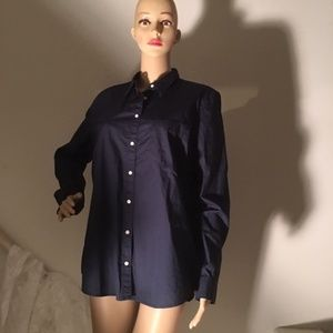 GAP Button Down Shirt Blouse XL